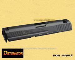 Detonator CNC Aluminum HK45 Slide Set for Marui HK45 GBB (Black)
